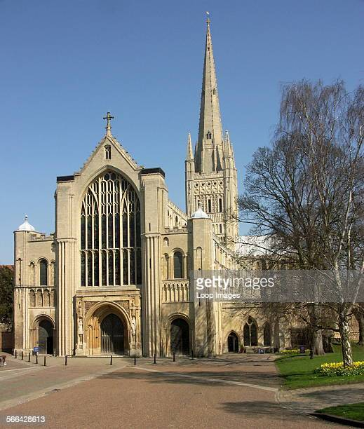 The magnificent Norwich Cathedral boasts the second highest spire in England