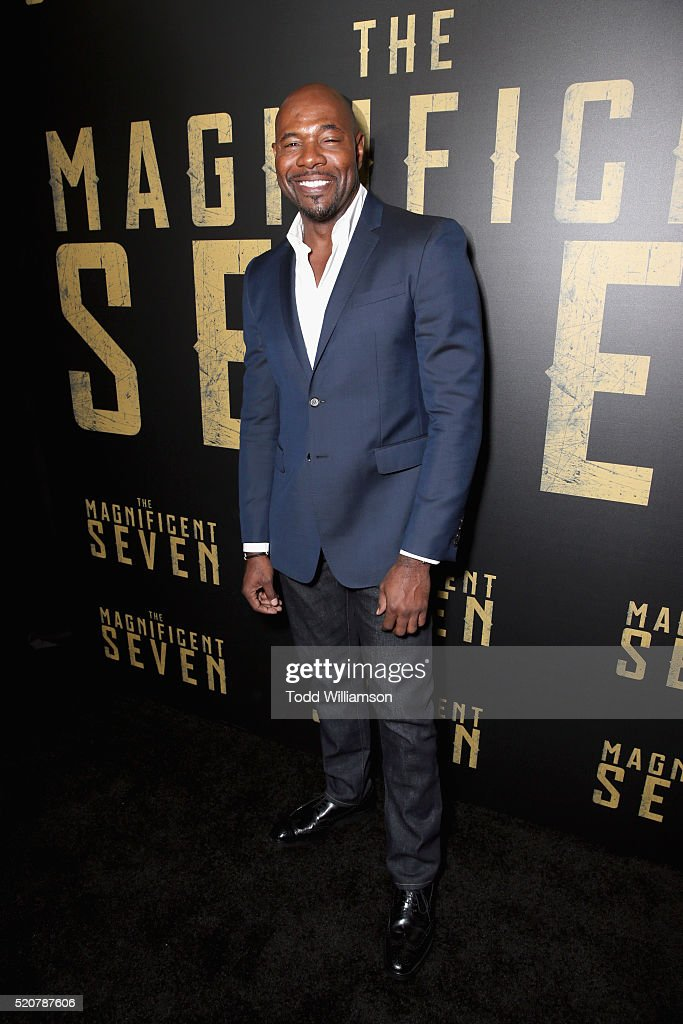 'The Magnificent Seven' director Antoine Fuqua attends CinemaCon 2016 An Evening with Sony Pictures Entertainment Celebrating the Summer of 2016 and...