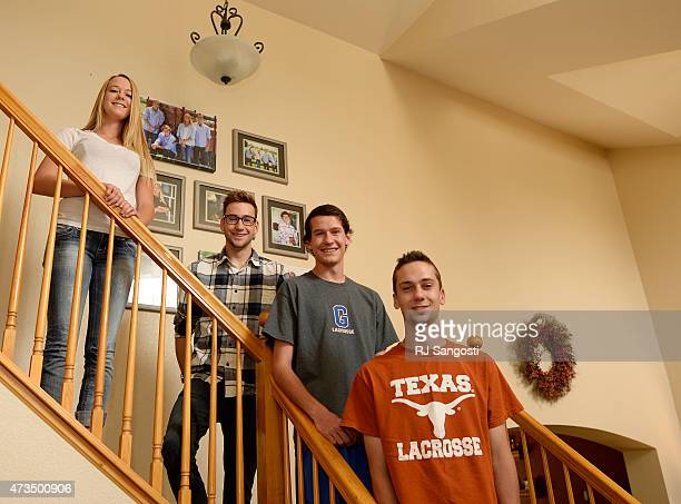 The Magoon quadruplets from left Maddie Mike Matt and Mitch at their home in Aurora recently turned 18yearsold and are all graduating from Grandview...