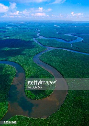 The Mahakam Delta in East Kalimantan
