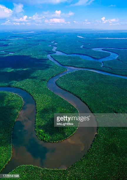 The Mahakam Delta in East Kalimantan