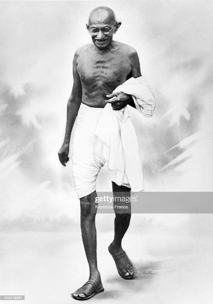 The Mahatma GANDHI in the 1920's