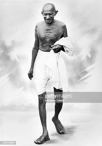 The Mahatma GANDHI in the 1920's