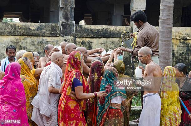 The main attraction for pilgrims is a 22stationsshowercircle all around through the Ramanathaswamy Temple in Rameshwaram This ceremony is washing...