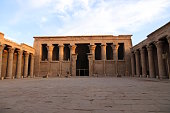 Built Structure, Edfu, Egypt, Middle East, Old Ruin, No people