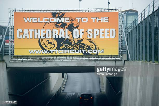 The main gate of the paddock during the MotoGp Of Holland at TT Circuit Assen on June 27 2012 in Assen Netherlands