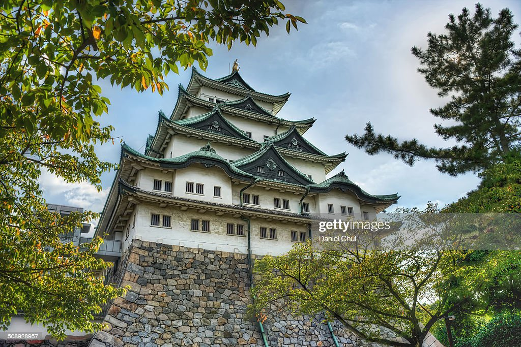The Main Keep of Nagoya Castle in Nagoya Aichi Japan