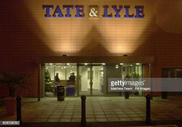 The main reception of the Tate Lyle sugar refinery in Silvertown North Woolwich London Shares in sugar producer Tate Lyle surged 7% today 3 NOVEMBER...