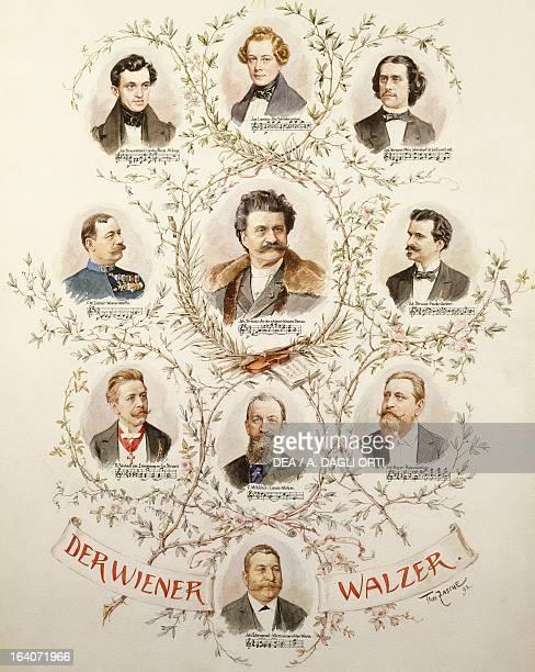 The main representatives of Viennese Waltz Johann Baptist Strauss Josef Lanner Joseph Stauss Karl Michael Ziehrer Johann Strauss Eduard Strauss...