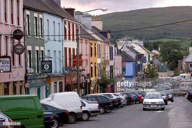 The main street in Kenmare Co Kerry If former US president Bill Clinton is looking for a tranquil spot to write his memoirs he could not do better...