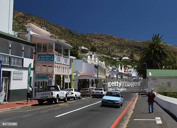 The Main Street in Simon's Town on February 6 2009 in Cape Town South Africa
