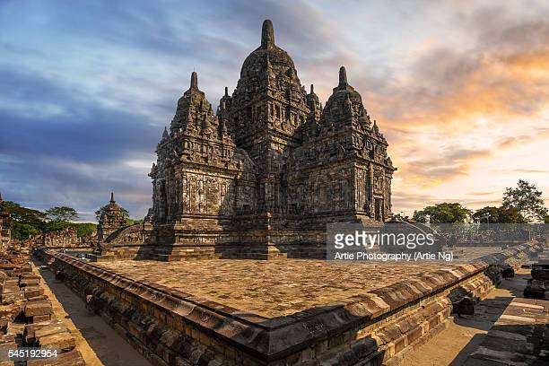 The Main Temple of Candi Sewu, North of Prambanan, Central Java, Indonesia