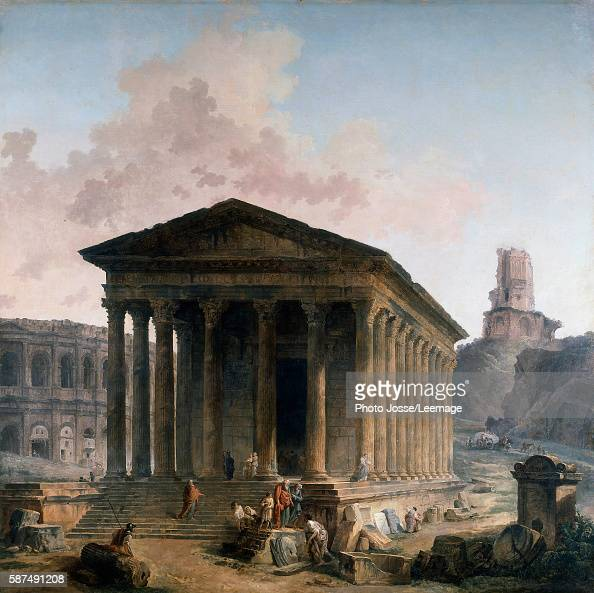 Maison carr e stock photos and pictures getty images - Maison carree nimes ...