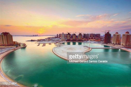 The majestic Pearl of Qatar