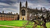 Photo taken during my trip to Cambridge , England on a chilly day in March