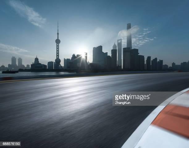The major road of Shanghai