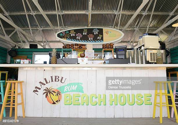 The Malibu¨ Rum Beach House made its last stop of the 'Best Summer Ever' at Route 91 festival on October 2 2015 in Las Vegas Nevada on October 2 2015...