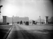 The Mall Westminster London looking towards Buckingham Palace with hackney cabs and an early motor car in view The Mall was designed as a route for...