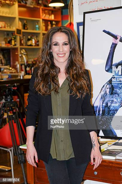 The MALU singer attends the presentation of the documentary quotMal Not One Step Backquot in Madrid Spain on May 17 2016
