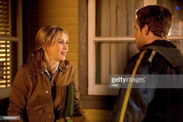 MOTEL 'The Man in Number 9' Episode 107 Pictured Vera Farmiga as Norma Louise Bates Max Thieriot as Dylan Massett