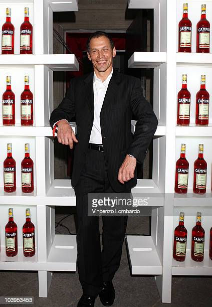 The Managing Director Italy of Campari Jean Jacques Dubau attends VOGUE Fashion's Night Out at the Palazzo Bagatti Valsecchi on September 09 2010 in...