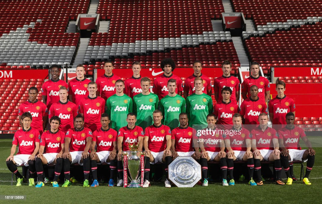 Hilo del Manchester United The-manchester-united-squad-danny-welbeck-phil-jones-chris-smalling-picture-id181915899