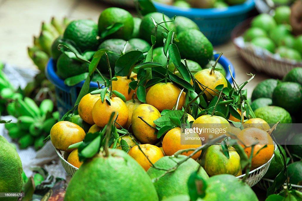 The Mandarin orange : Stock Photo