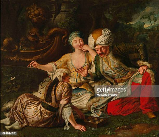 The Mangala Game First half of the 18th cent Found in the collection of Muzeum Narodowe Warsaw Artist Mock Jan Samuel