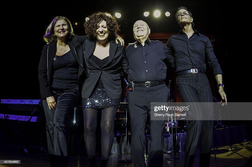 The Manhattan Transfer perform at the San Manuel Amphitheater on April 24 2014 in San Bernadino California