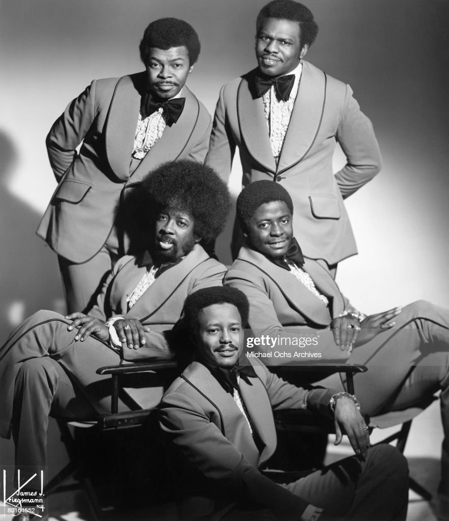 The Manhattans (Gerald Alston, Winfred Lovett, Edward Bivins, Kenneth ...
