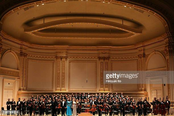 The Mannes Orchestra performing at Carnegie Hall on Monday night November 3 2008This imageThe Mannes Orchestra and Riverside Choral Socierty taking a...