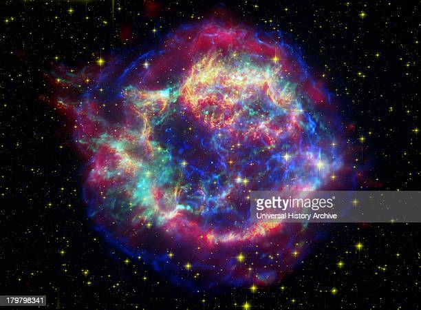 The many sides of the supernova remnant Cassiopeia A Located 10000 lightyears away in the northern constellation Cassiopeia Cassiopeia A is the...