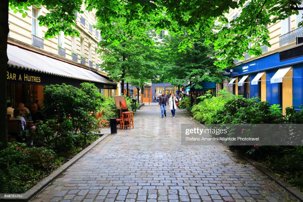 The Marais, a street : Stock Photo