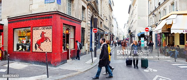 The Marais : Stock Photo