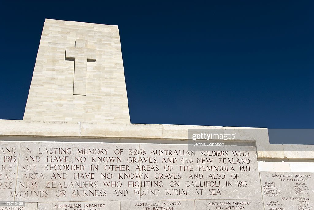 CONTENT] The marble Lone Pine Memorial commemorates British Commonwealth soldiers of the Gallipoli Campaign in World War One who have no known grave