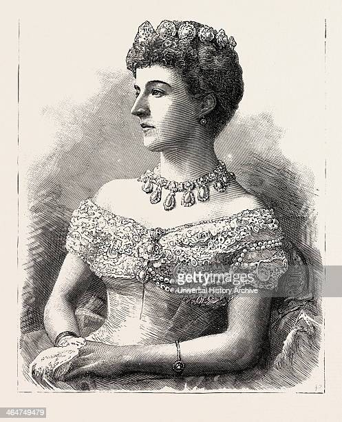 The Marchioness Of Londonderry Ireland 1888 Engraving