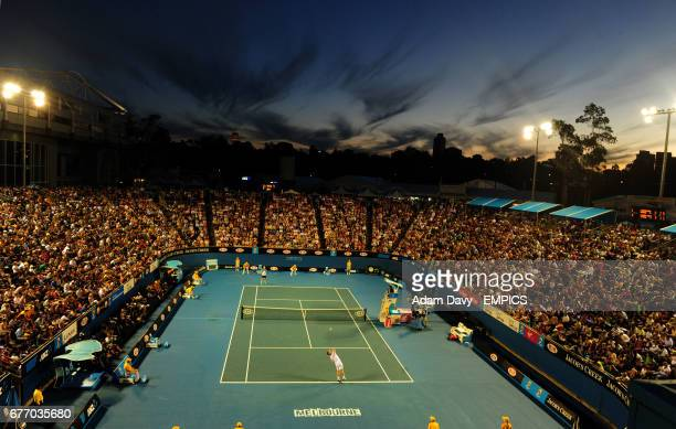 The Margaret Court Arena where Great Britain's Andy Murray takes on Ukraine's Illya Marchenko