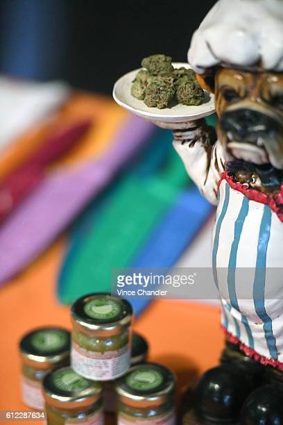 DENVER CO The marijuana strain Bruce Banner is on display Master Cannabis Chef Scott Durrah prepares a marijuanainfused Jamaican curry chicken using...