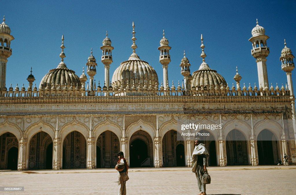 The Markazi Jamia Masjid mosque in Rawalpindi northern Punjab Pakistan circa 1965