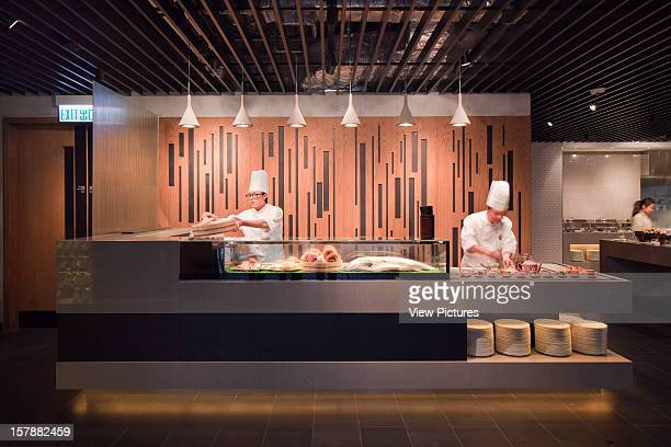 The Market Restaurant Sushi And Fresh Fish Rocco Yim China Architect
