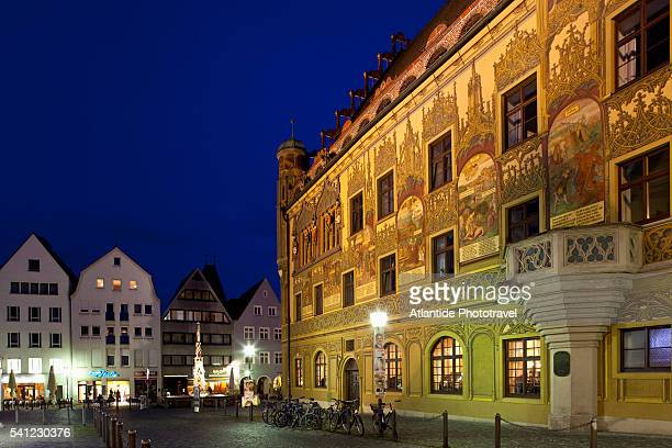 The Marktplatz and the Rathaus, Ulm, Germany