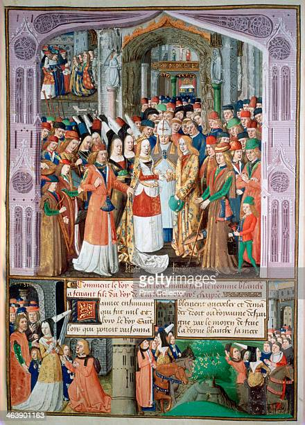 The marriage of Blanche and Fernando Blanche daughter of Louis IX of France marries Ferdinand de la Cerda Infante of Castile After her father's death...