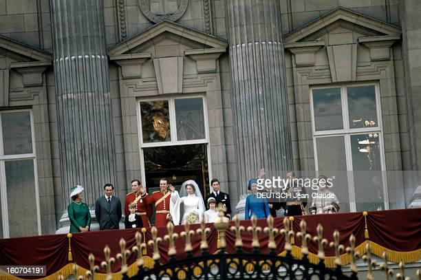 The Marriage Of Princess Anne Of England And Captain Mark Phillips Royaume Uni Londres 14 novembre 1973 Reportage sur le mariage de la Princesse Anne...