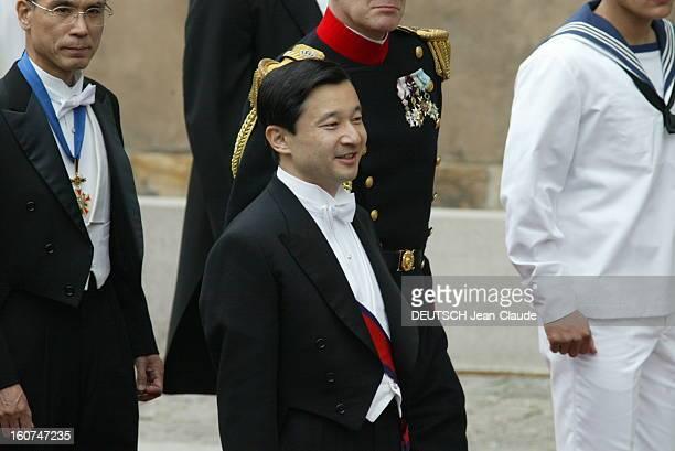 The Marriage Of The Prince Frederik Of Denmark Le mariage du prince FREDERIK DE DANEMARK avec l''australienne Mary DONALDSON à COPENHAGUE l''arrivée...