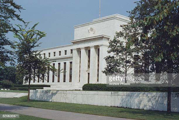 The Marriner S Eccles Federal Reserve Board Building in Washington DC USA 1959 It houses the main offices of the Board of Governors of the Federal...