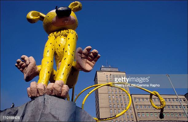 The marsupilami in Charleroi Belgium in June 1995