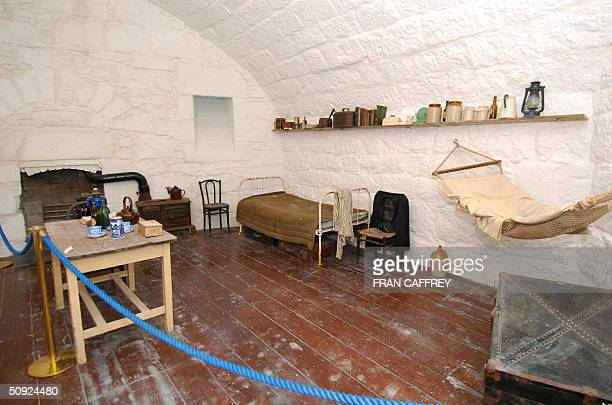 The Martello Tower perched on the edge of the Sandycove coastline and a museum devoted to the life and work of James Joyce is pictured in Dublin 25...
