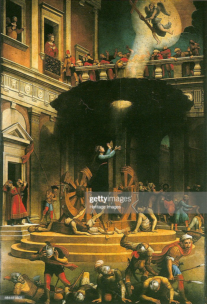 The Martyrdom of Saint Catherine of Alexandria 15301540 Found in the collection of the Santa Maria Novella Florence