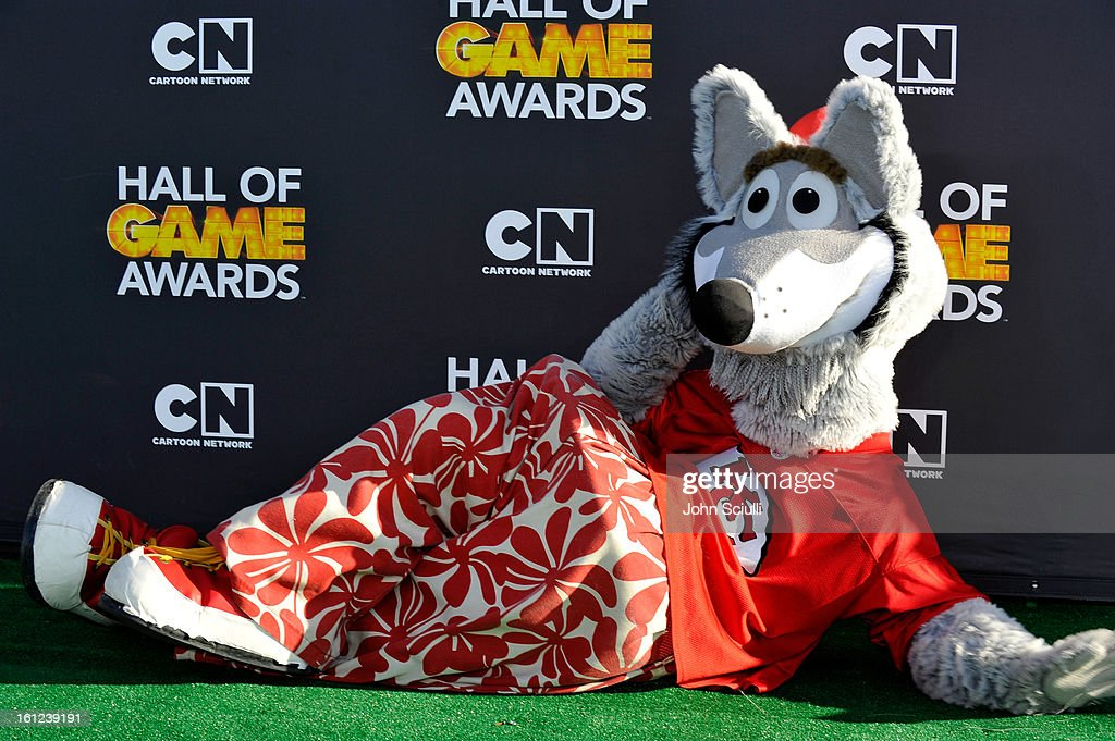 The mascot from the Kansas City Chiefs attends the Third Annual Hall of Game Awards hosted by Cartoon Network at Barker Hangar on February 9, 2013 in Santa Monica, California. 23270_002_JS_0937.JPG