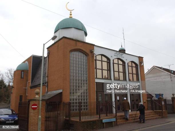 The Masjid e Noor mosque in Gloucester which is within walking distance of Saajid Badat's home in Barton